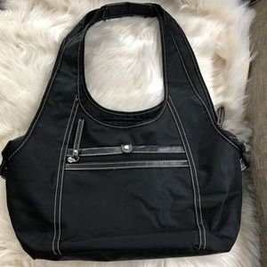 Nine West large satchel shopper shoulder handbag